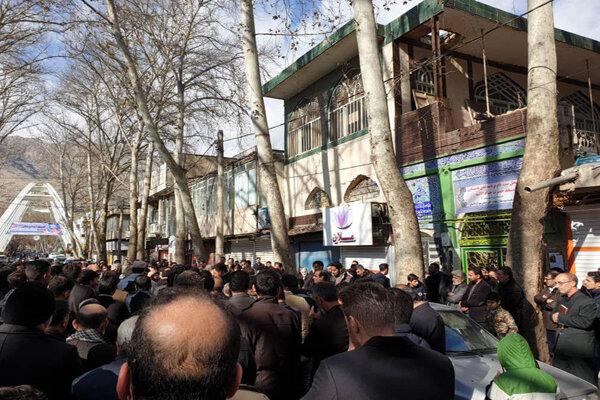 Luristan eyaletinde Şehit Süleymani için matem töreni düzenlendi