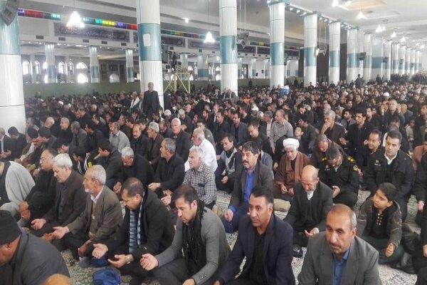 عزاداری مردم نهاوند به مناسبت شهادت سردار قاسم سلیمانی