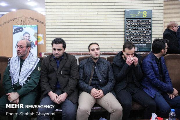 فرزندان شهید سردار سپهبد قاسم سلیمانی در مسجد امیرالمؤمنین شهرک دقایقی