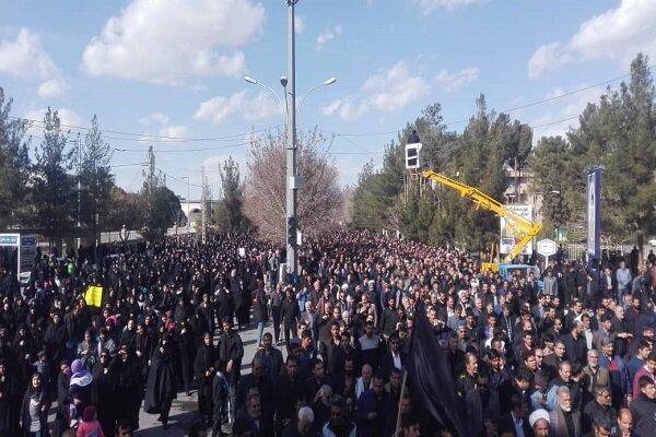 Meşhed kentinde ABD karşıtı gösteri