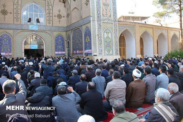 راهپیمایی مردم سمنان در پی شهادت سردار سپهبد حاج قاسم سلیمانی