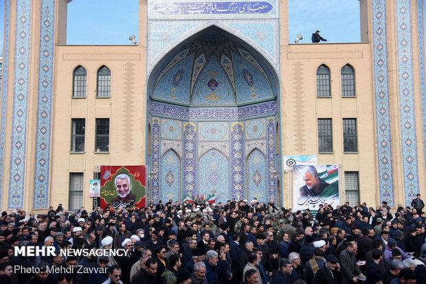راهپیمایی مردم ارومیه در پی شهادت سردار سپهبد حاج قاسم سلیمانی