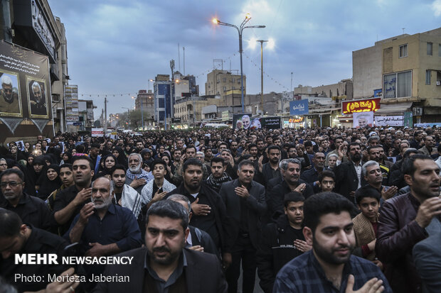 People hold rally in Ahvaz to condemn assassination of Gen. Soleimani