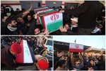 VIDEO: Mourners hold funeral processions of Gen. Soleiman, al-Muhandes