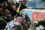 """مشاهد من سماء بغداد تظهر حشود المشيعين لـلشهيدين """"سليماني"""" و""""المهندس"""""""