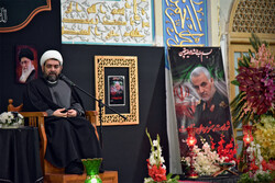 Religious groups mourn martyrdom of Gen. Soleimani at Imam Reza Shrine