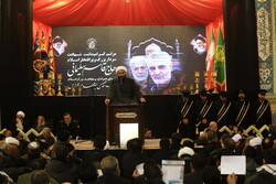 Commemoration of martyr Lt. Gen. Soleimani in Qom