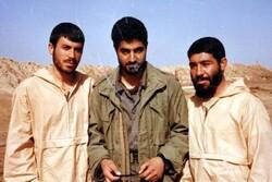 اللواء قاسم سليماني خلال الحرب المفروضة على ايران