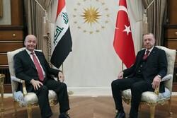 روسای جمهور ترکیه و عراق بر گسترش همکاریها تاکید کردند