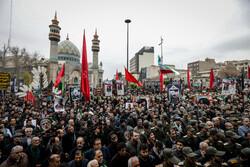 تہران کے میدان فلسطین میں شہید قاسم سلیمانی کی یاد عوامی اجتماع