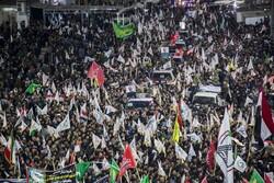 Irak'ta şehit Süleymani için cenaze töreni düzenleniyor
