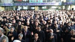 """حشود المعزيين في محافظة """"مازندران"""""""