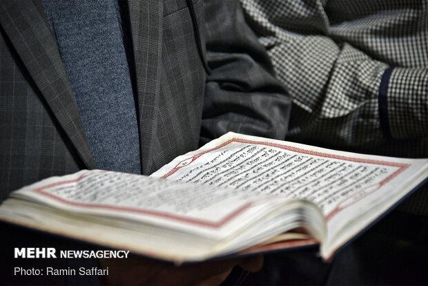 مشاركة ضخمة لأعضاء المواکب العزاء  في العتبة الرضوية المقدسة