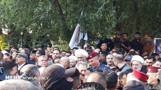 Kazımeyn'deki anma töreninden fotoğraflar