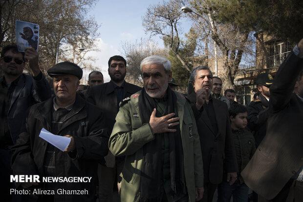 راهپیمایی مردم شاهرود در پی شهادت سردار سپهبد حاج قاسم سلیمانی