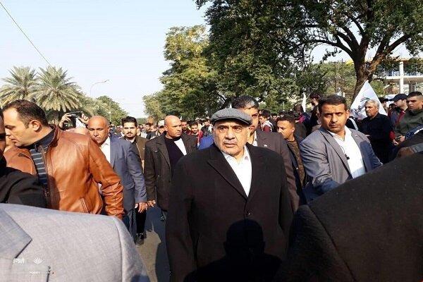 Adil Abdulmehdi Şehit Süleymani'nin anma törenine katıldı