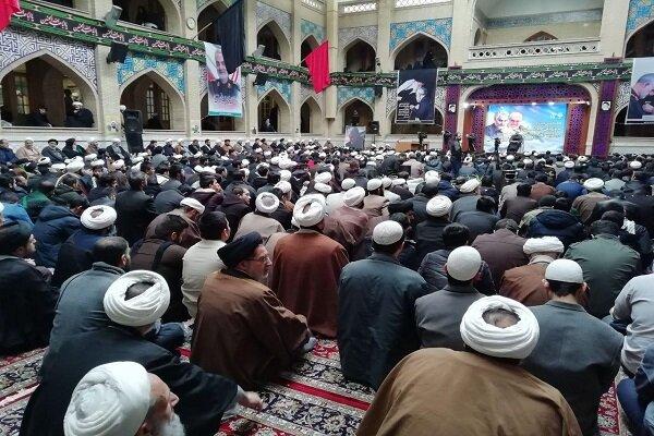 طلاب و روحانیون مشهد اقدام تروریستی آمریکا را محکوم کردند