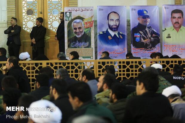 Commemoration of martyr Lt. Gen. Soleimani in Qom