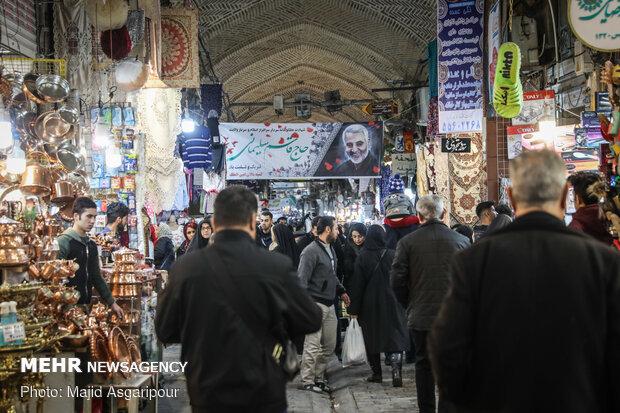 حال و هوای شهر پس از شهادت سردار سپهبد قاسم سلیمانی