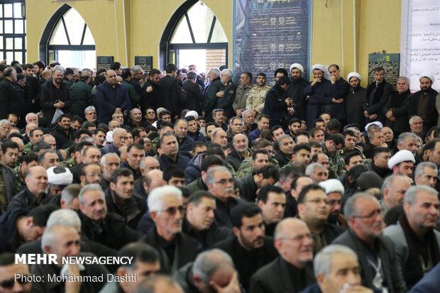 Erdebil'de şehit Süleymani için anma töreni düzenlendi