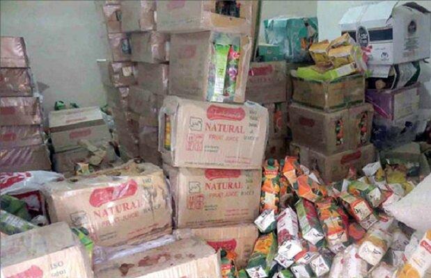 ۳۸ هزار بسته مواد غذایی قاچاق در رشت کشف و ضبط شد