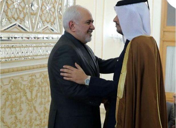 ترور سردار سلیمانی؛ محور گفتگوی ظریف و همتای قطری
