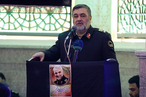 انتقام شهید حاج قاسم را جبهه مقاومت در سراسر دنیا خواهد گرفت