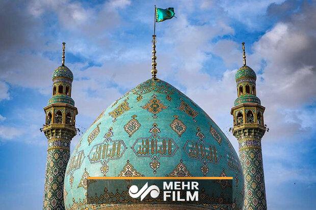 مسجد جمکران کے پرچم کو تبدیل کردیا گیا