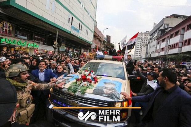 اعلام برنامههای تشییع پیکر پاک شهید سردار سلیمانی