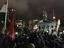 """مراسم تأبين للشهيدين الفريق """"سليماني"""" و""""المهندس"""" في تورنتو"""
