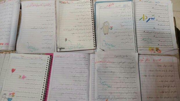 «سردار زنده است» دیکته شب کودکان و دانش آموزان کاشانی
