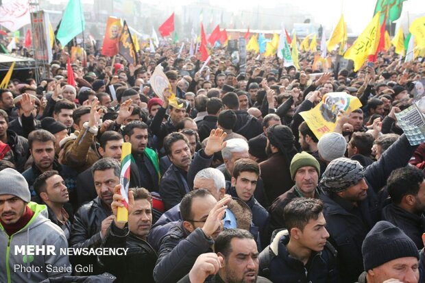 پیش بینی حضور بیش از ۴ میلیون نفر در مراسم تشییع سردار سلیمانی