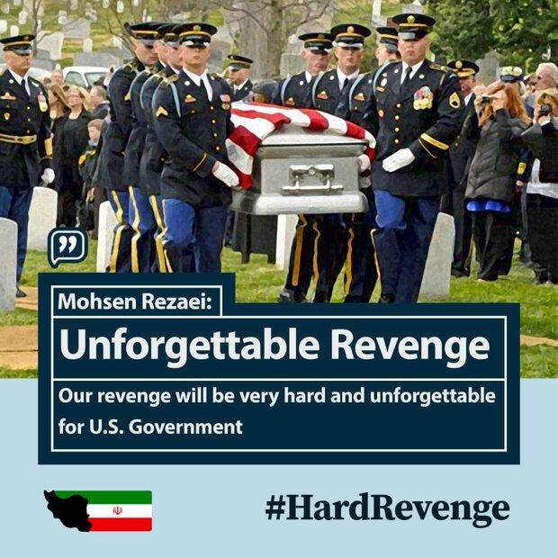 Officials' tweets under #Hard_Revenge