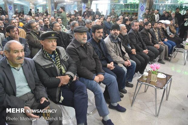 مراسم بزرگداشت شهید سپهبد قاسم سلیمانی در شهرضا