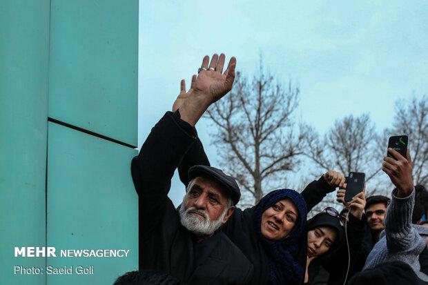تشییع پیکر شهید سپهبد قاسم سلیمانی در مشهد مقدس