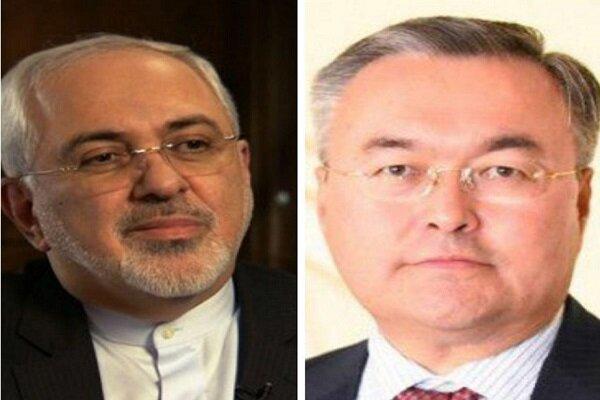 آخرین تحولات بین المللی؛ محورگفتگوی وزرای خارجه ایران و قزاقستان