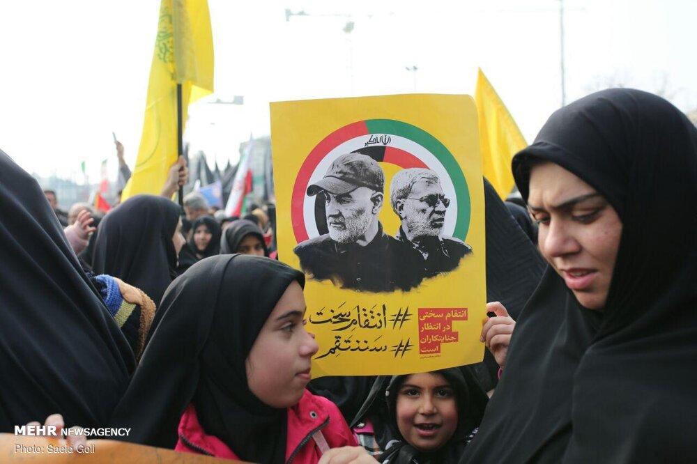 Commemoration of martyr Lt. Gen. Soleimani in Mashhad