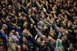 اجتماع عظیم عزاداران شهید سپهبد حاج قاسم سلیمانی در مصلی تهران