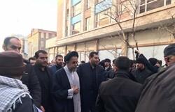 وزیر اطلاعات در مراسم تشییع سردار شهید سلیمانی حضور یافت