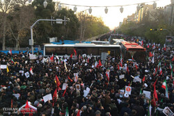 VIDEO: Mourners pay homage to assassinated Gen. Soleimani