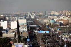 """الملايين يودعون الشهيدين """" سليماني"""" و"""" المهندس"""" في طهران"""