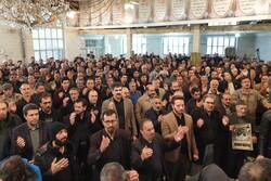 عزاداری اصناف و بازاریان استان همدان در غم سردار دلها