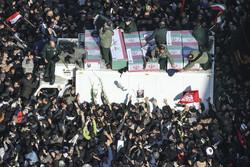 تخمین حضور۲۵میلیون نفر در مراسم تشییع سردار سلیمانی درایران وعراق