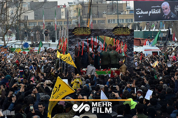 VIDEO: Millions convene in Tehran to pay tribute to Gen. Soleimani