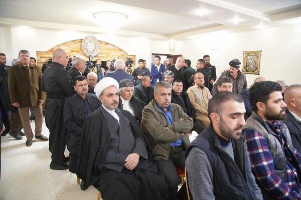 پاسداشت سردار در کنسولگری ایران در سلیمانیە