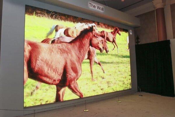 تلویزیون ۲۹۲ اینچی رونمایی شد