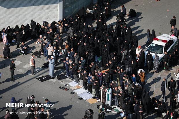 تهران در انتظار حاج قاسم و همرزمان شهیدش