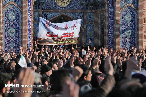 عزاداری اهالی اردبیل به سبک و سیاق عاشورای حسینی