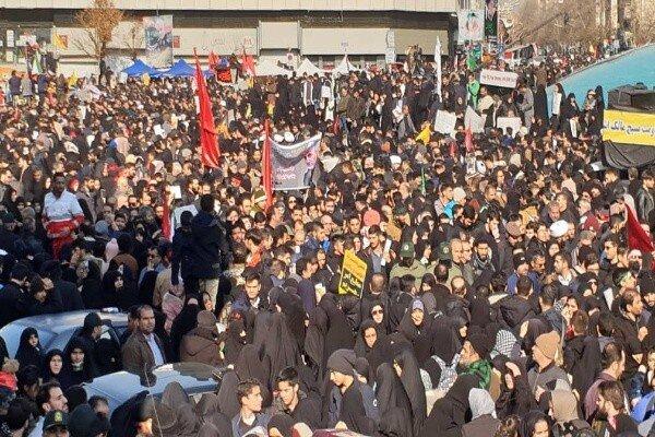 امدادرسانی به ۴ هزار نفر در مراسم تشییع پیکر شهید سپهبد سلیمانی