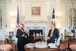 تحولات منطقه محور دیدار معاون وزیر دفاع سعودی با پمپئو
